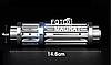 Лазерная указка YX B017 —  Мощный лазер с 5 насадками, яркий синий лазер, фото 5