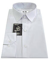 Рубашка мужская белая №10-12 Dacron 1