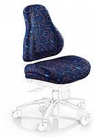 Чехлы для кресел Mealux Palermo Y-128 ткань синяя с рисунком, для кресла Y-128