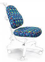 Чехлы для кресел Mealux Conan Y-317 ткань голубая со зверятами, для кресла Y-317