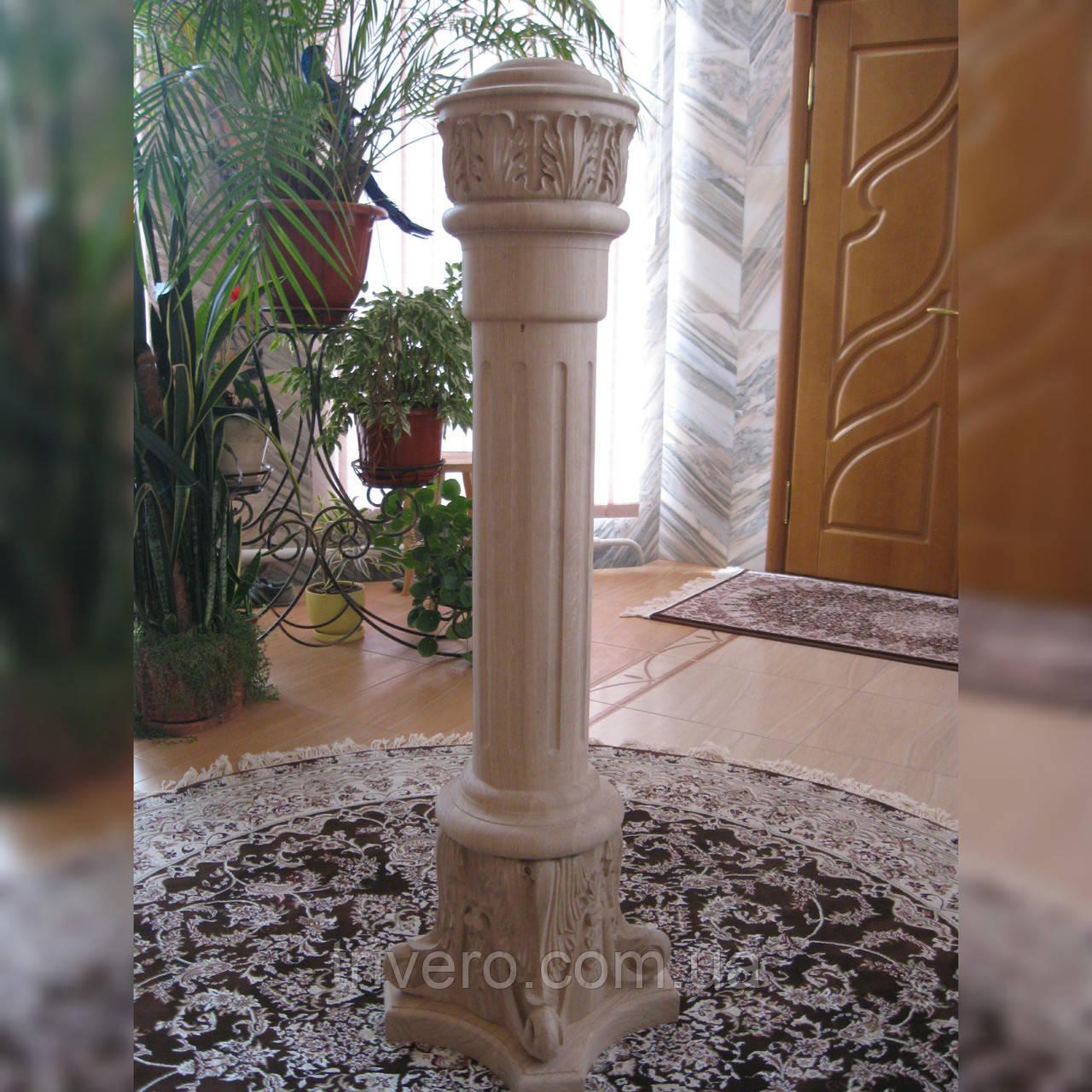 Заходной столб для деревянной лестницы  L-1751