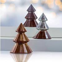 """Форма поликарбонат для шоколада """"Елка"""" высота 12 см Martellato Италия -06579"""