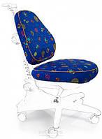 Чехлы для кресел Mealux Conan Y-317 ткань синяя с жучками, для кресла Y-317