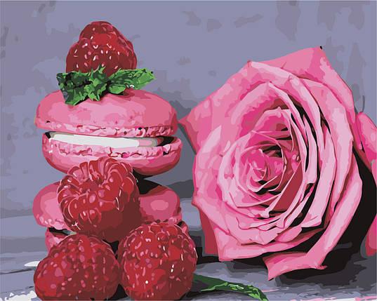 AS0462  Набор живописи по номерам Розовое наслаждение, фото 2