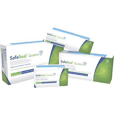 Стерилизационные пакеты SafeSeal Quattro  57 x 102 мм