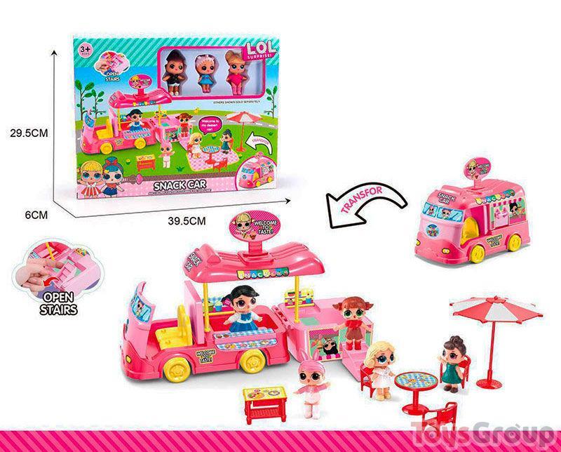 Набор куклы LOL Snack Car