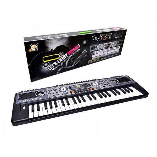 Детский синтезатор MQ-4913  на 49 клавиш