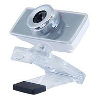 Веб-камера 1.3 Мп з мікрофоном Gemix F9 Gray