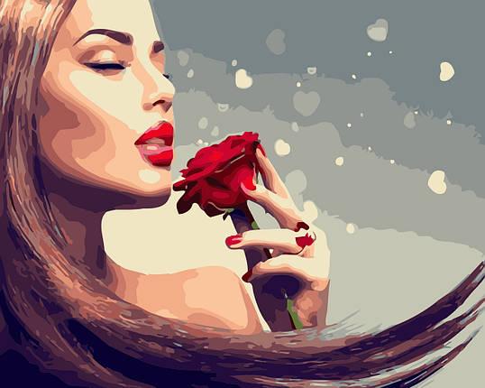 AS0449  Набор живописи по номерам Аромат розы, фото 2