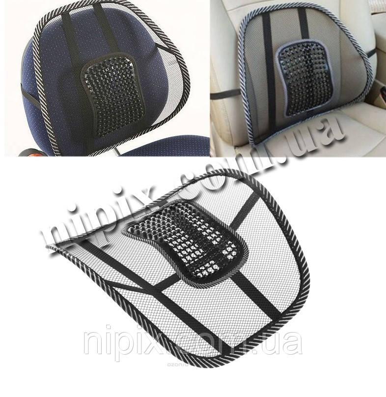 Упор-корректор для спины Офис-комфорт (подходит для стульев и сидения авто)