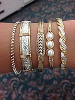 Ювелирные украшения из серебра с напайками золота