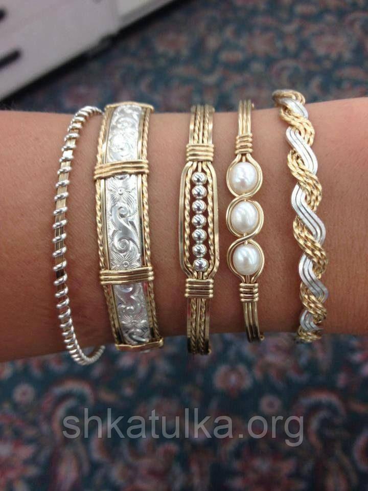 Ювелирные украшения из серебра и золота