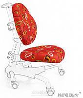 Чехлы для кресел Mealux Y-517 / Y-718 ткань красная с кольцами, для кресла Y-517/Y-718