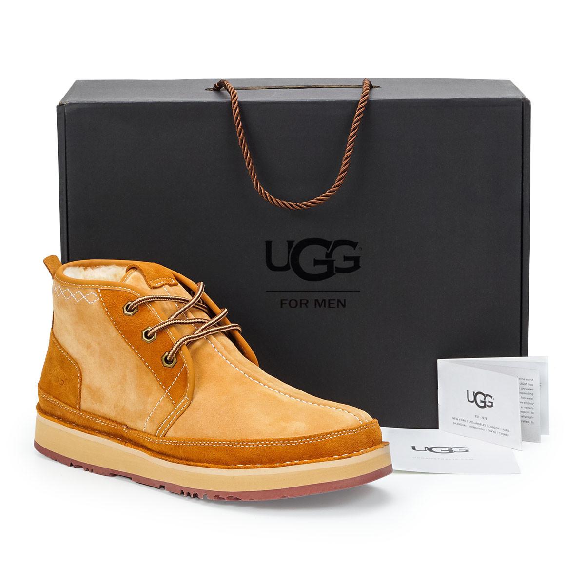 Натуральные мужские зимние ботинки UGG Australia (David Beckham),41,42,43,44