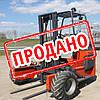 Вездеходный 3-х опорный погрузчик Palfinger CR50 2007г.в.