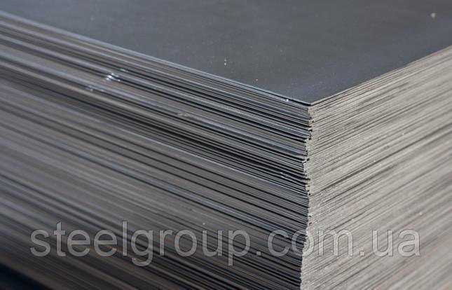 Лист стальной 25мм Сталь У8А горячекатаный