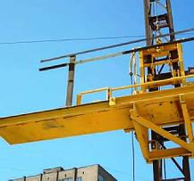 Высота подъёма Н-97 метров Мачтовый-мачтовые подъёмник-подъёмники для строительства грузовой  ПМГ г/п 500 кг ., фото 2