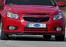 Окантовка противотуманок (2 шт., нерж.) - Chevrolet Cruze 2009+ гг., фото 2