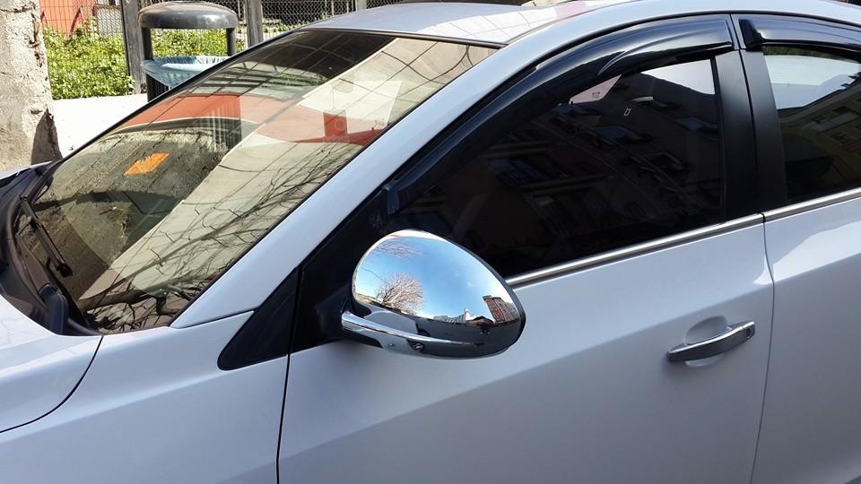 Молдинги стекол (нерж) - Chevrolet Cruze 2009+ гг.