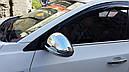 Молдинги стекол (нерж) - Chevrolet Cruze 2009+ гг., фото 8