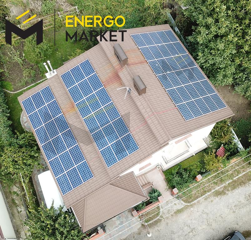 Солнечная сетевая станция 18 кВт в Черкасской области