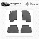 Резиновые коврики (4 шт, Stingray Premium) - Chevrolet Epica 2006+ гг., фото 2