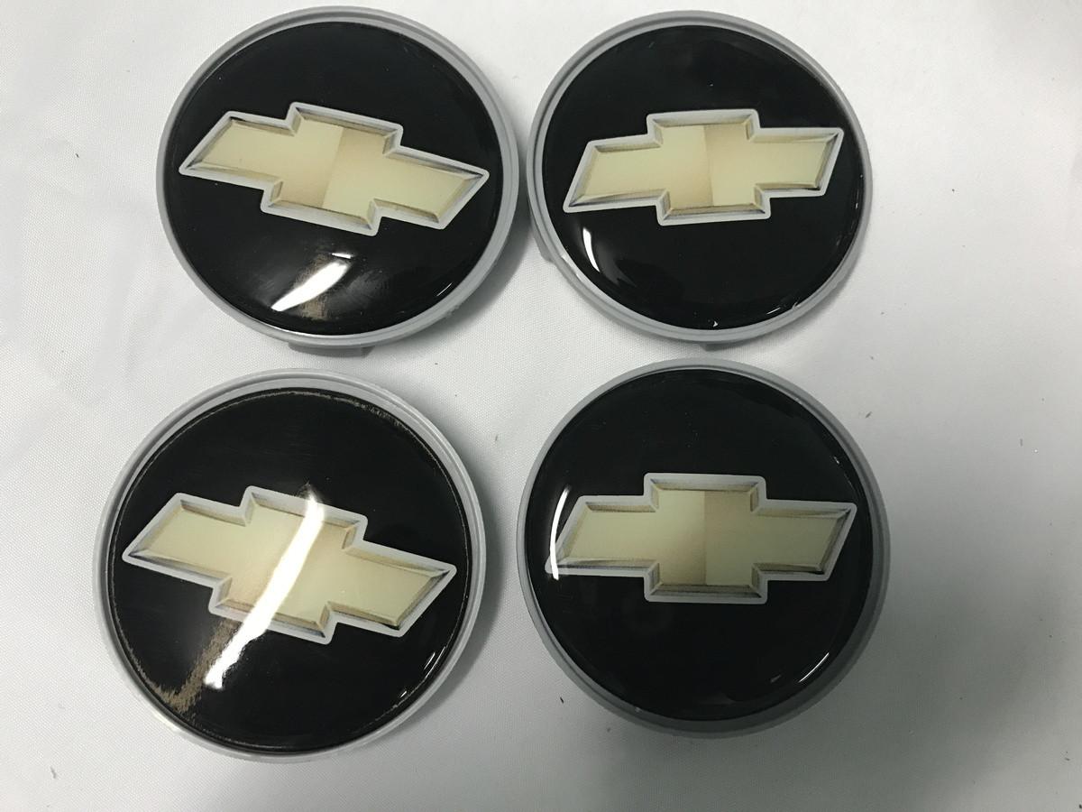 Колпачки в титановые диски 55мм (4 шт) - Chevrolet Epica 2006+ гг.