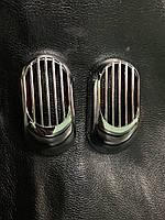 """Решетка на повторитель """"Овал"""" (2 шт, ABS) - Chevrolet Epica 2006+ гг."""