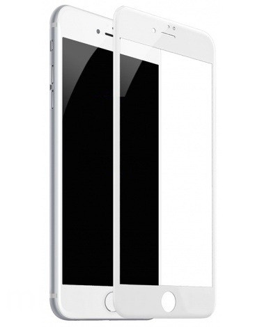 Full Glue защитное стекло для iPhone 7 Plus / 8 Plus - White