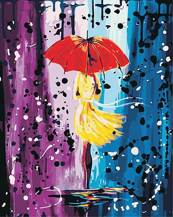 AS0444  Набор живописи по номерам Волшебный дождь, фото 2