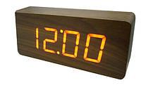 Электронные цифровые часы VST 865 подсветка Red
