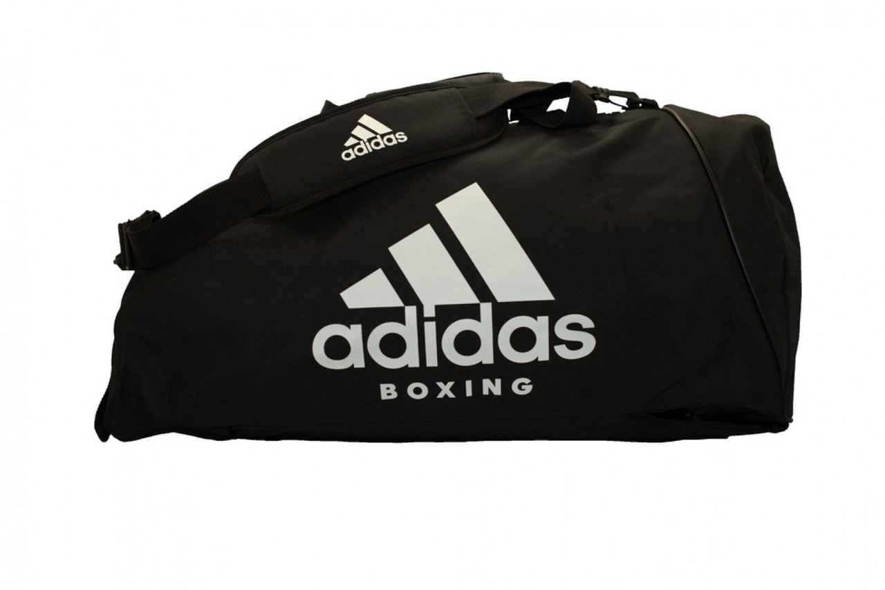 0560a327ba9a Спортивная сумка Adidas Boxing 62х31х31 см (ADIACC055B) Black/White -  Интернет-магазин