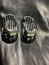 """Решетка на повторитель """"Овал"""" (2 шт, ABS) - Chevrolet Evanda 2000+ гг., фото 3"""