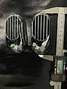 """Решетка на повторитель """"Овал"""" (2 шт, ABS) - Chevrolet Evanda 2000+ гг., фото 4"""