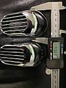 """Решетка на повторитель """"Овал"""" (2 шт, ABS) - Chevrolet Evanda 2000+ гг., фото 5"""