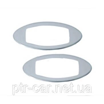 Накладки на поворотники (2 шт, пласт) - Chevrolet Lacetti