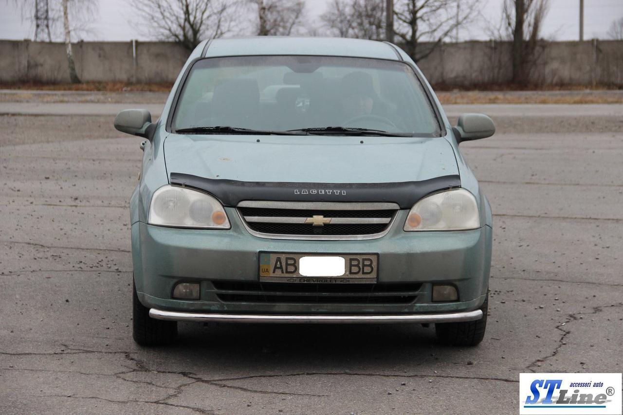 Передний ус ST008 (42мм, нерж.) - Chevrolet Lacetti