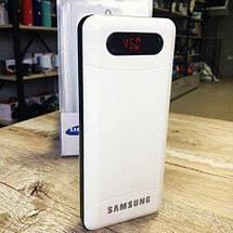 Портативное зарядное устройство Power Bank Samsung 40000 mAh 3 USB + LED фонарик / ПОДАРКИ, фото 3