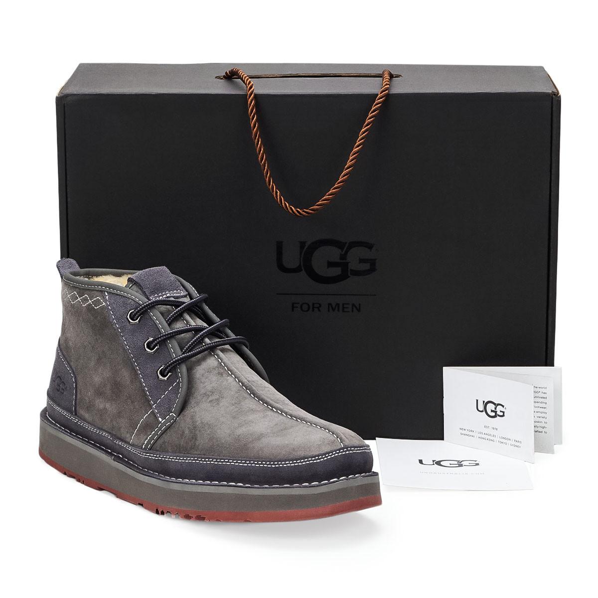 Натуральные мужские зимние ботинки UGG Australia (David Beckham),41,42,44