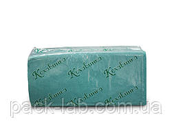 Рушник паперовий Z-складання, зелене