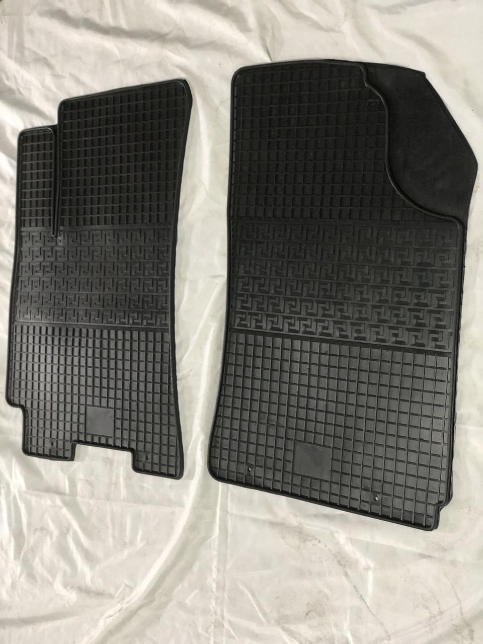 Резиновые коврики (2 шт, Polytep) - Chevrolet Lanos
