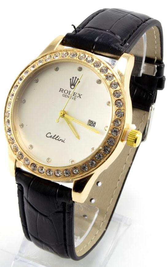 b028f74305ceb Женские Наручные Часы, Черные + Золотые — в Категории