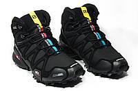 Зимние ботинки (на меху) мужские Salomon Speedcross 3 (реплика) 6-065