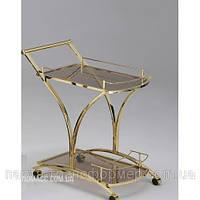 Сервировочный столик  на колесиках.