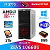 Игровой Монстр ПК ZEVS PC10660U i7 3770 + RX 560 4GB + Игры
