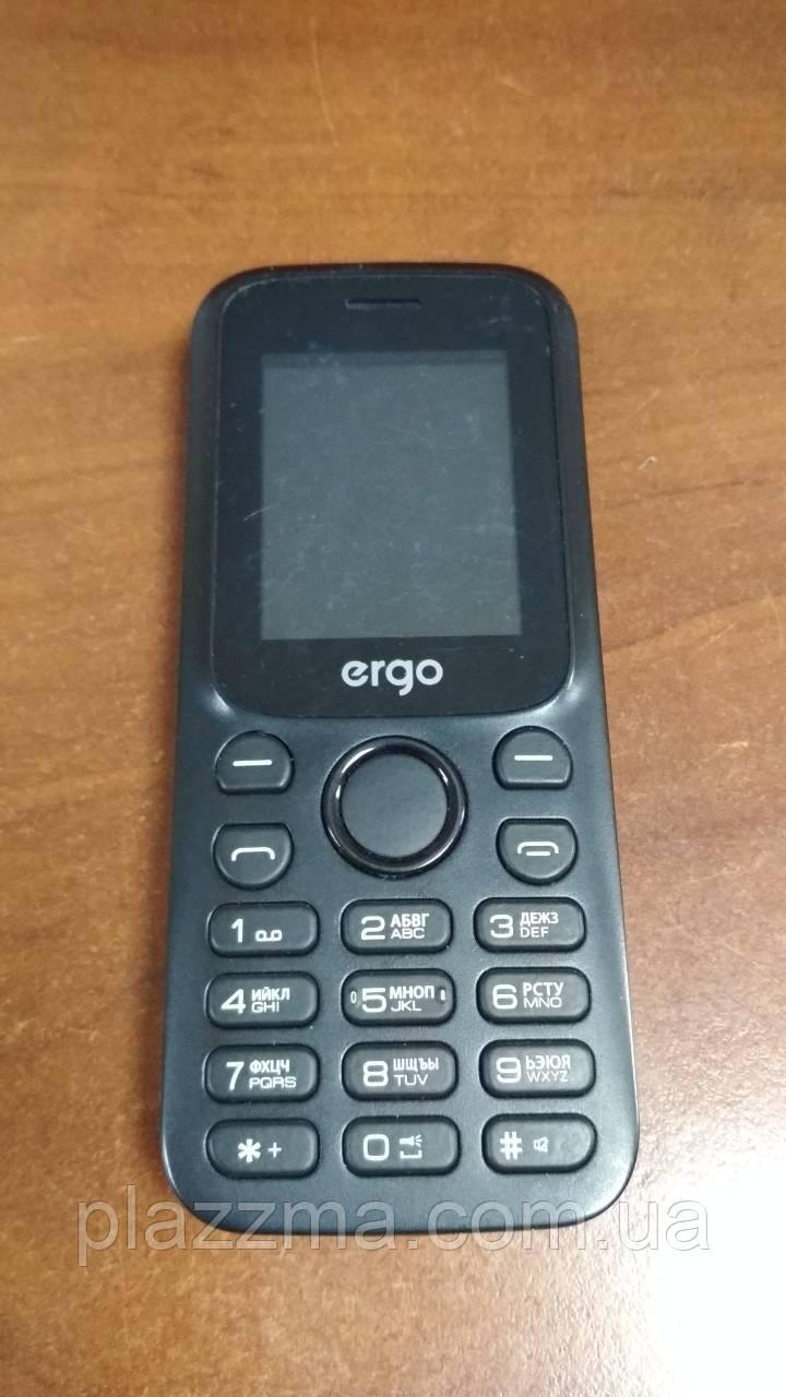 Телефон Ergo F182 black б/у