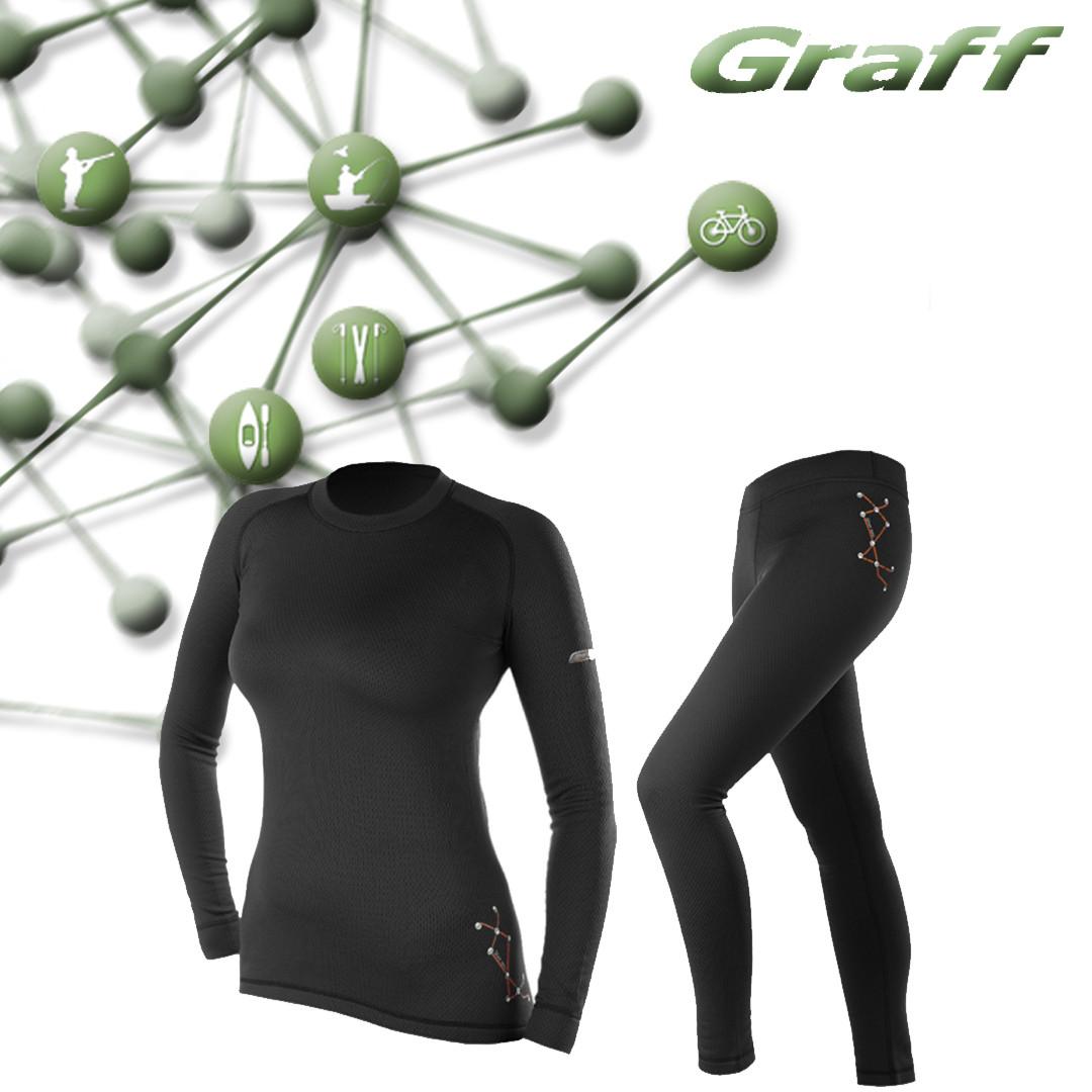 Комплект термобелья с ионами серебра Graff  900-1-D/901-1-D