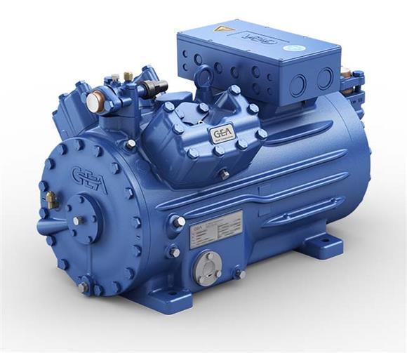 Полугерметический поршневой компрессор GEA Bock HGX44е/565-4S