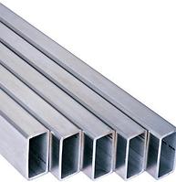 Труба алюминиевая прямоугольная 10/20, толщина стенки 1, марка стали АД31, Д16Т, АД0, АМг2, АМг3, Д1