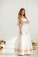 Витончена весільна сукня